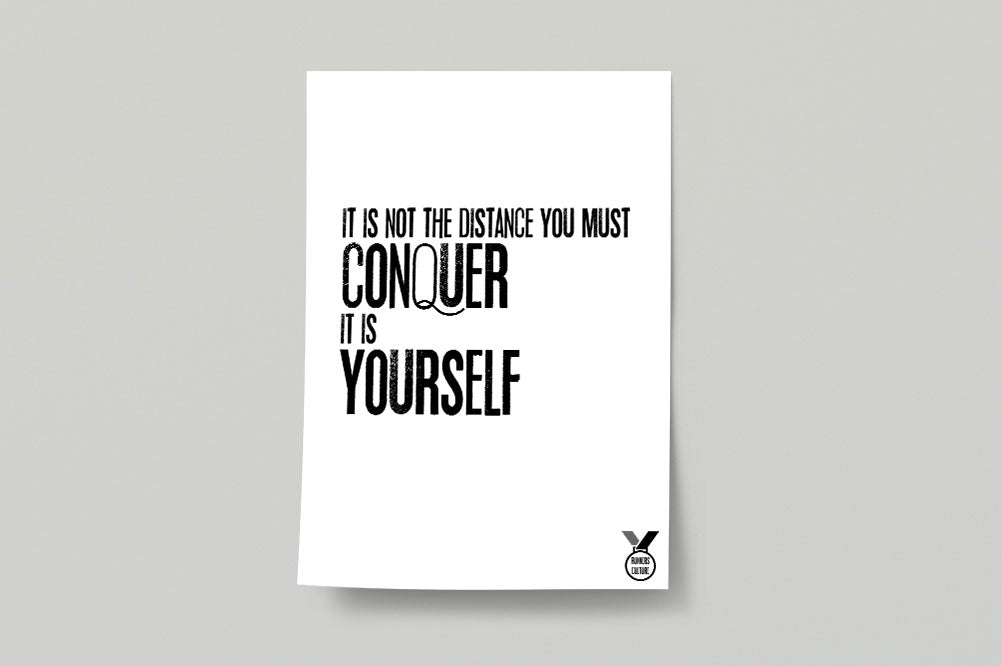 Conquer Poster Print