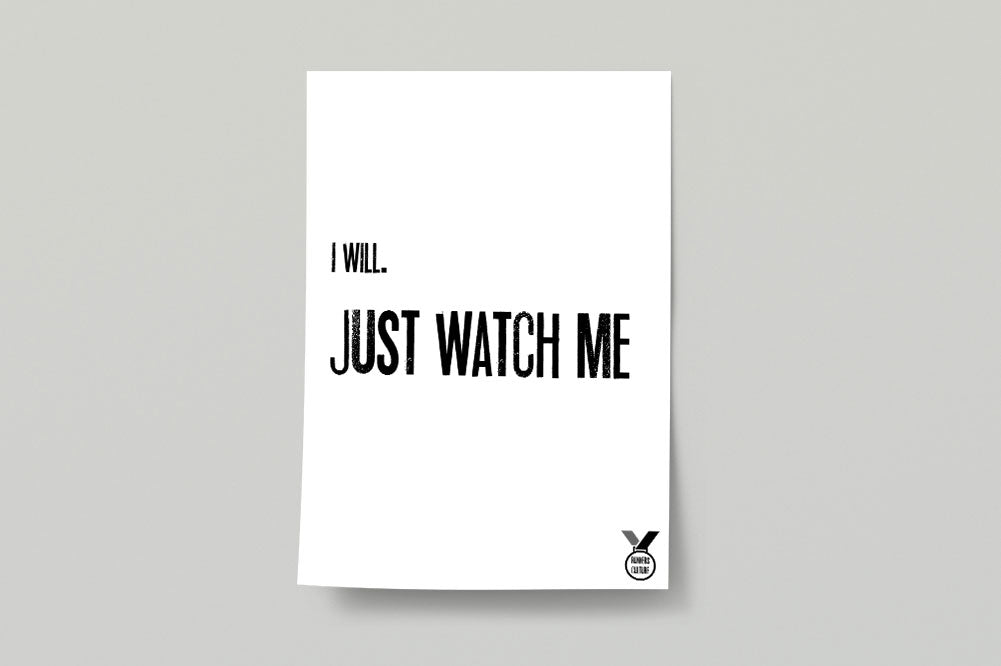 I Will Poster Print