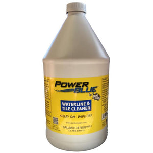 Power Blue Waterline and Tile Cleaner (1 Gallon)