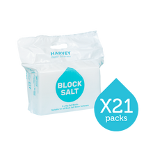 Load image into Gallery viewer, Harvey Block Salt - 21 packs