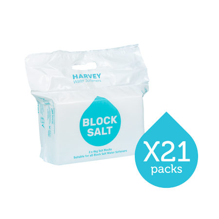 Harvey Block Salt - 21 packs