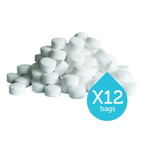 Harvey water softener tablet salt x 12 bags