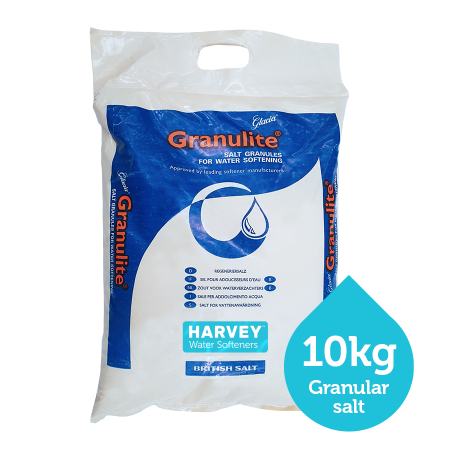 Harvey granular softener salt - 6 x 10kg bag