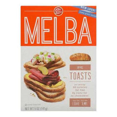 Old London Melba Rye Toasts - Case of 12 - 5 OZ