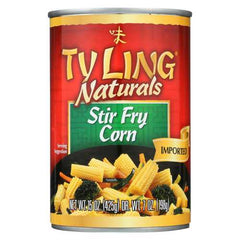 Ty Ling Corn - Stirfry - Case of 12 - 15 oz