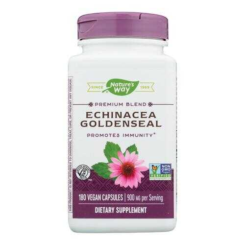 Nature's Way - Echinacea Goldenseal - 180 Capsules