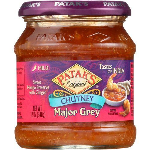 Pataks Chutney - Major Grey - Mild - 12 oz - case of 6