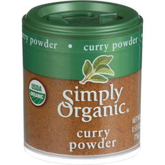 Simply Organic Curry Powder - Organic - .53 oz - Case of 6