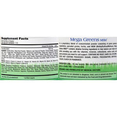 Perfectly Healthy Mega Greens plus MSM Powder - 8 oz