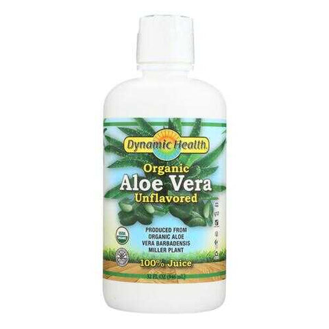 Dynamic Health Organic Aloe Vera Juice - 32 fl oz
