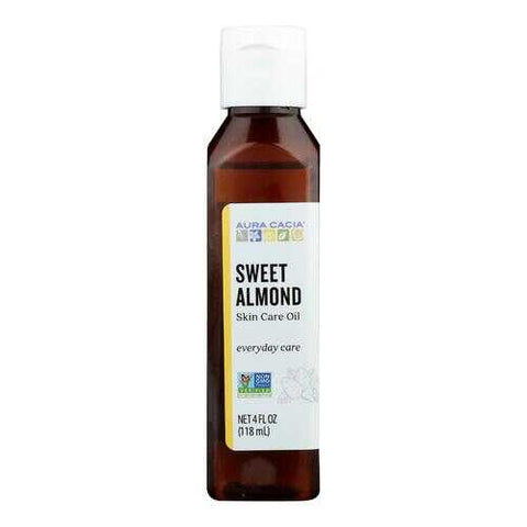 Aura Cacia - Sweet Almond Natural Skin Care Oil - 4 fl oz