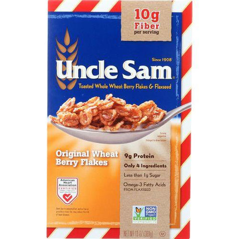 Uncle Sam Cereal Cereal - Original - Family Size - 13 oz - case of 12