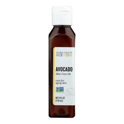 Aura Cacia - Natural Skin Care Oil Avocado - 4 fl oz