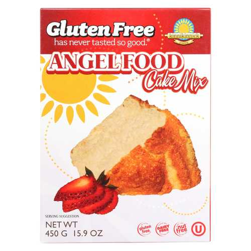 Kinnikinnick Angel Food Cake Mix - Case of 6 - 16 oz.