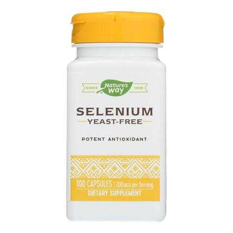 Nature's Way - Selenium - 200 mcg - 100 Capsules