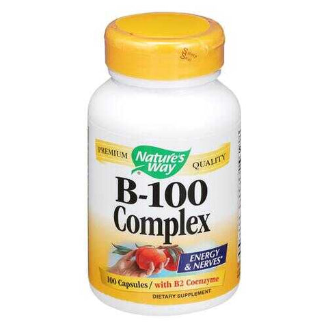 Nature's Way - Vitamin B-100 Complex - 100 Capsules