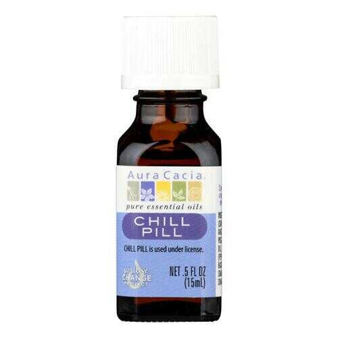 Aura Cacia - Essential Solutions Chill Pill - 0.05 fl oz