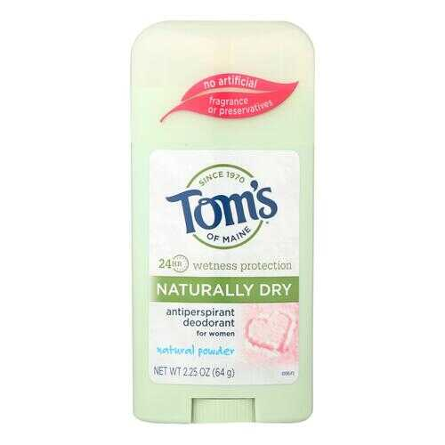 Tom's of Maine Women's Antiperspirant Deodorant Natural Powder - 2.25 oz - Case of 6