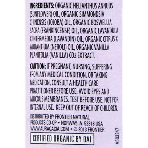 Aura Cacia - Organic Chakra Balancing Aromatherapy Roll-on - Enlightening Crown - .31 oz