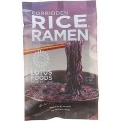 Lotus Foods Ramen - Organic - Forbidden Rice - with Miso Soup - 2.8 oz - case of 10