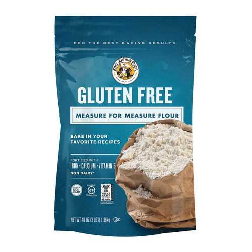 King Arthur Measure For Measure Flour - Case of 4 - 3 lb.