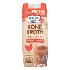 Kitchen Basics Chicken Bone Broth - Case of 12 - 8.25 FZ