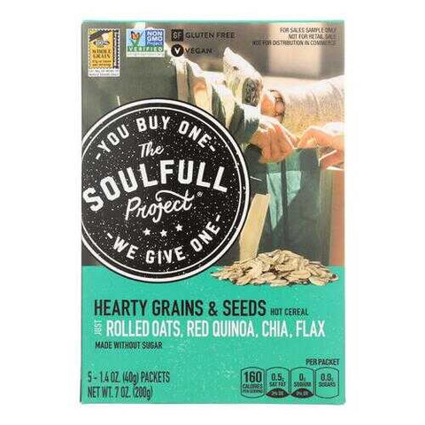 The Soulfull Project Hot Cereal - Case of 6 - 7 OZ