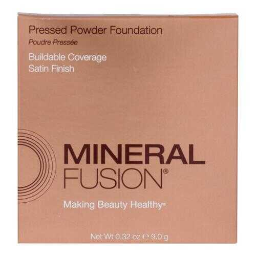 Mineral Fusion - Pressed Powder Foundation - Deep 1 - 0.32 oz.