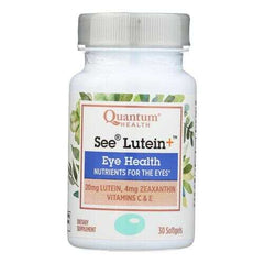 Quantum Research - See Lutein Eye Health - 1 Each - 30 SGEL