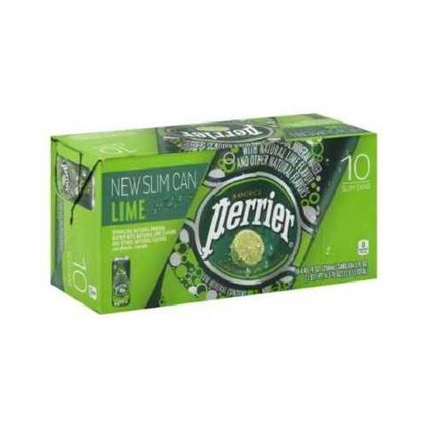 Perrier Sparkling Min Water Lime (3x10Pack )