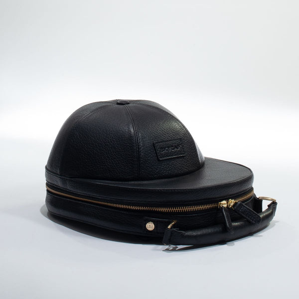 Black Leather Skycap