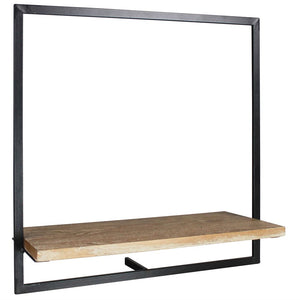 JONAS SHELF-WOOD/IRON - LG