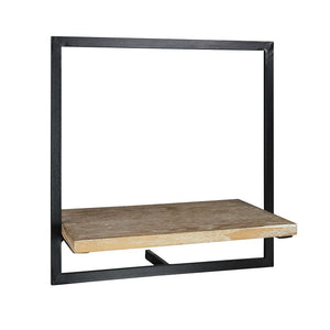 JONAS SHELF-WOOD/IRON - SM