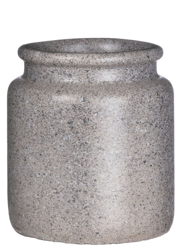 GRAY CEMENT POTTERY