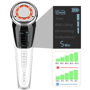Therapy device led light skin care massager.