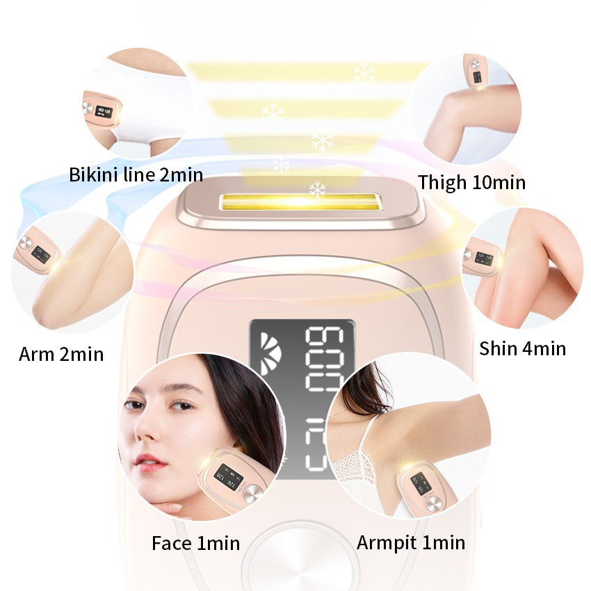 IPL Mini Epilator with Ice Cool Hair Removal.