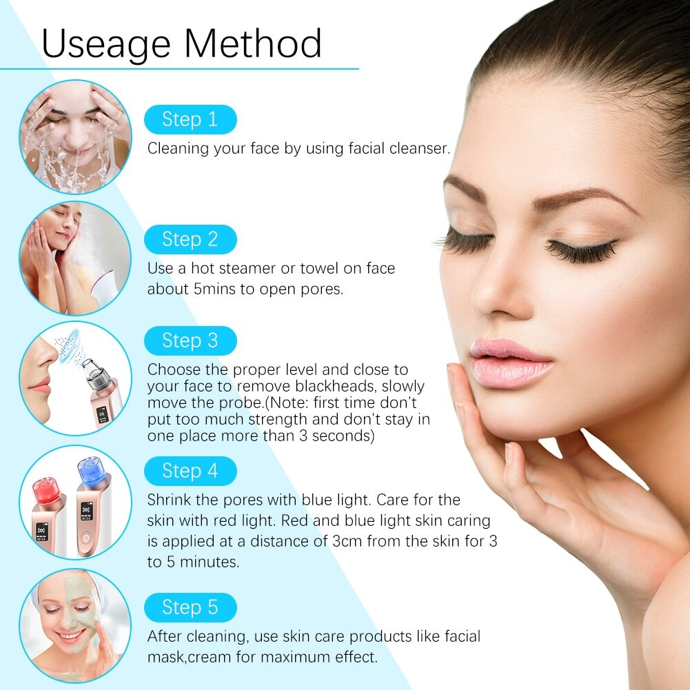 How to remove blackheads from the face easily?