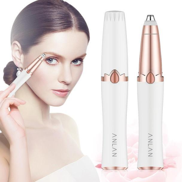 Mini trimmer for removing eyebrow hair and styling for women!