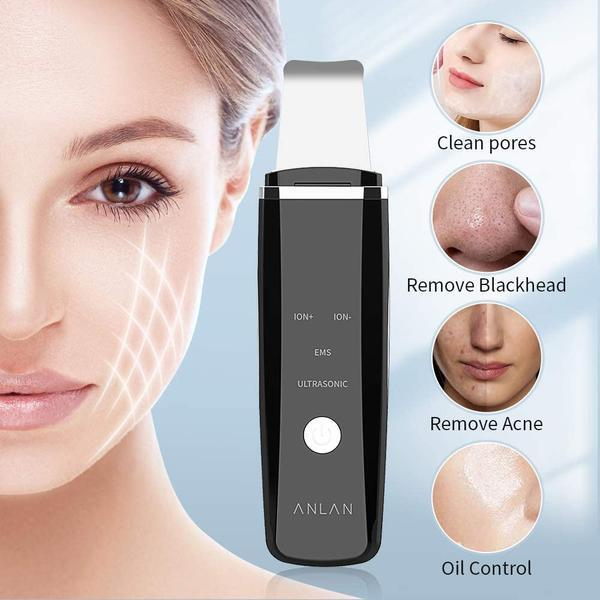 Red Blue Light Skin Scrubber help you remove irritated Аcne!