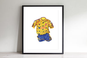 Arsenal Away '91-'92