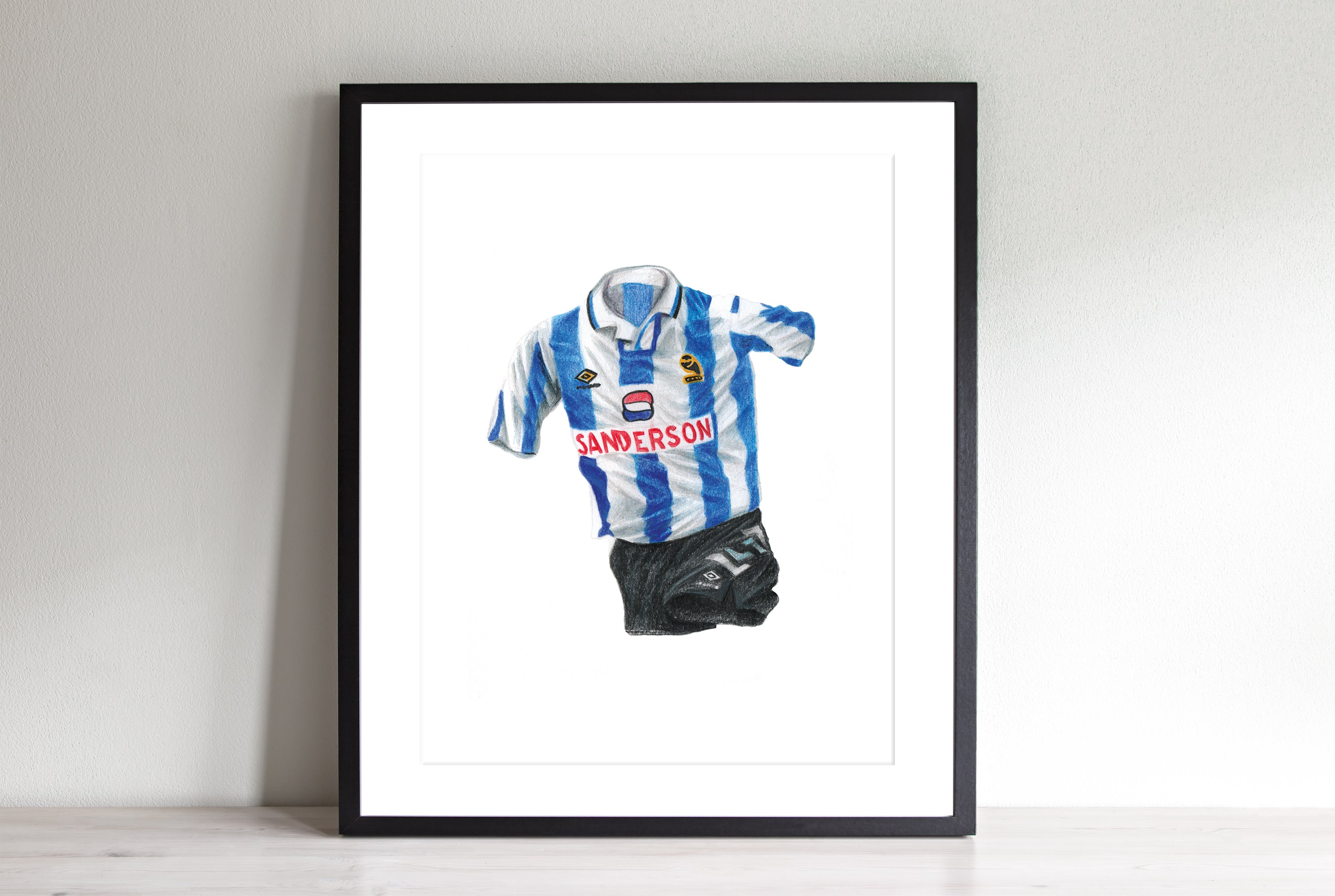 Sheffield Wednesday Home '92-'93