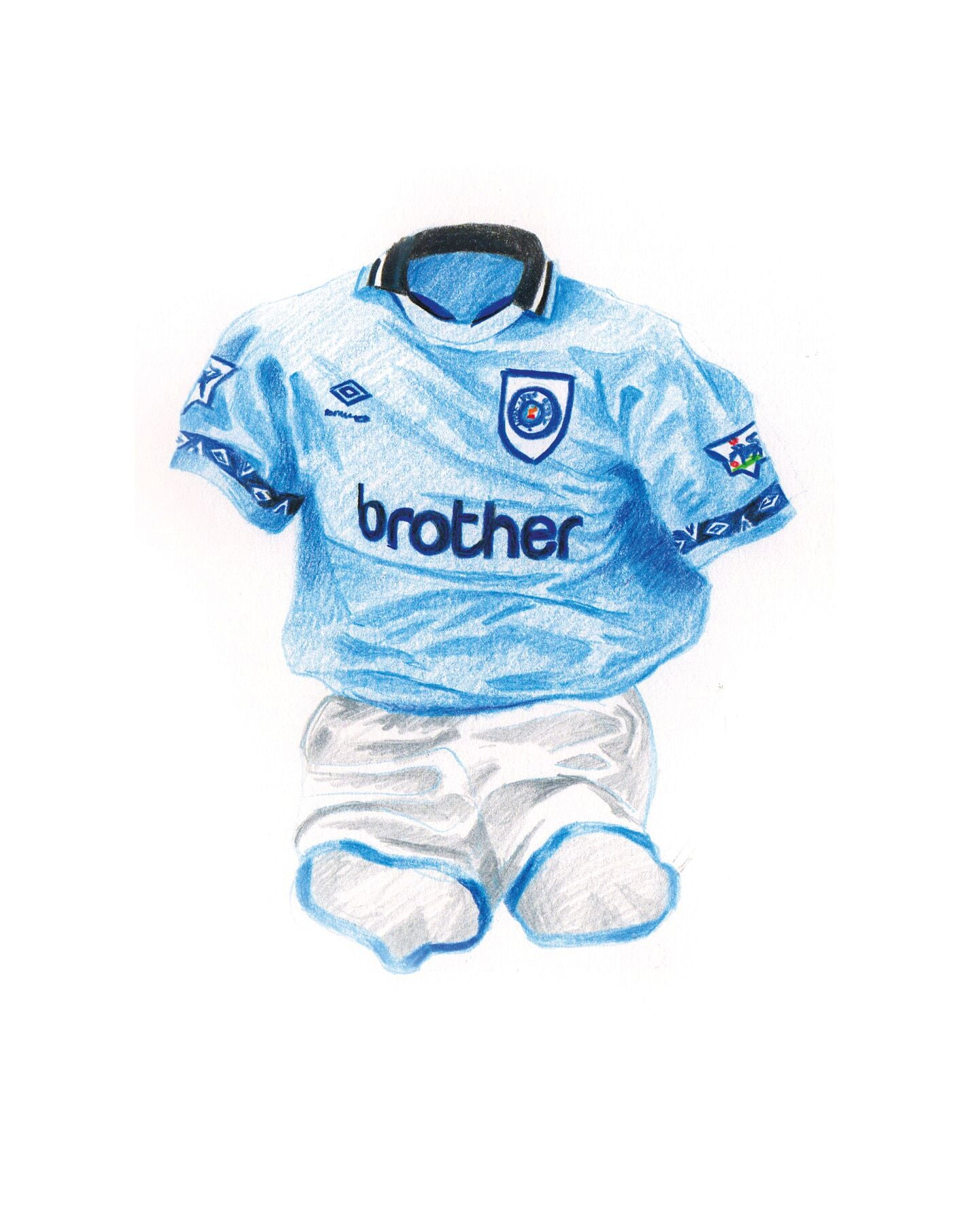 Man City Home '94-'95