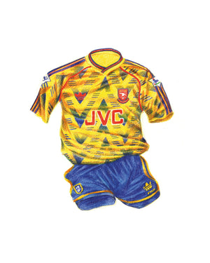 Open image in slideshow, Arsenal Away '91-'92