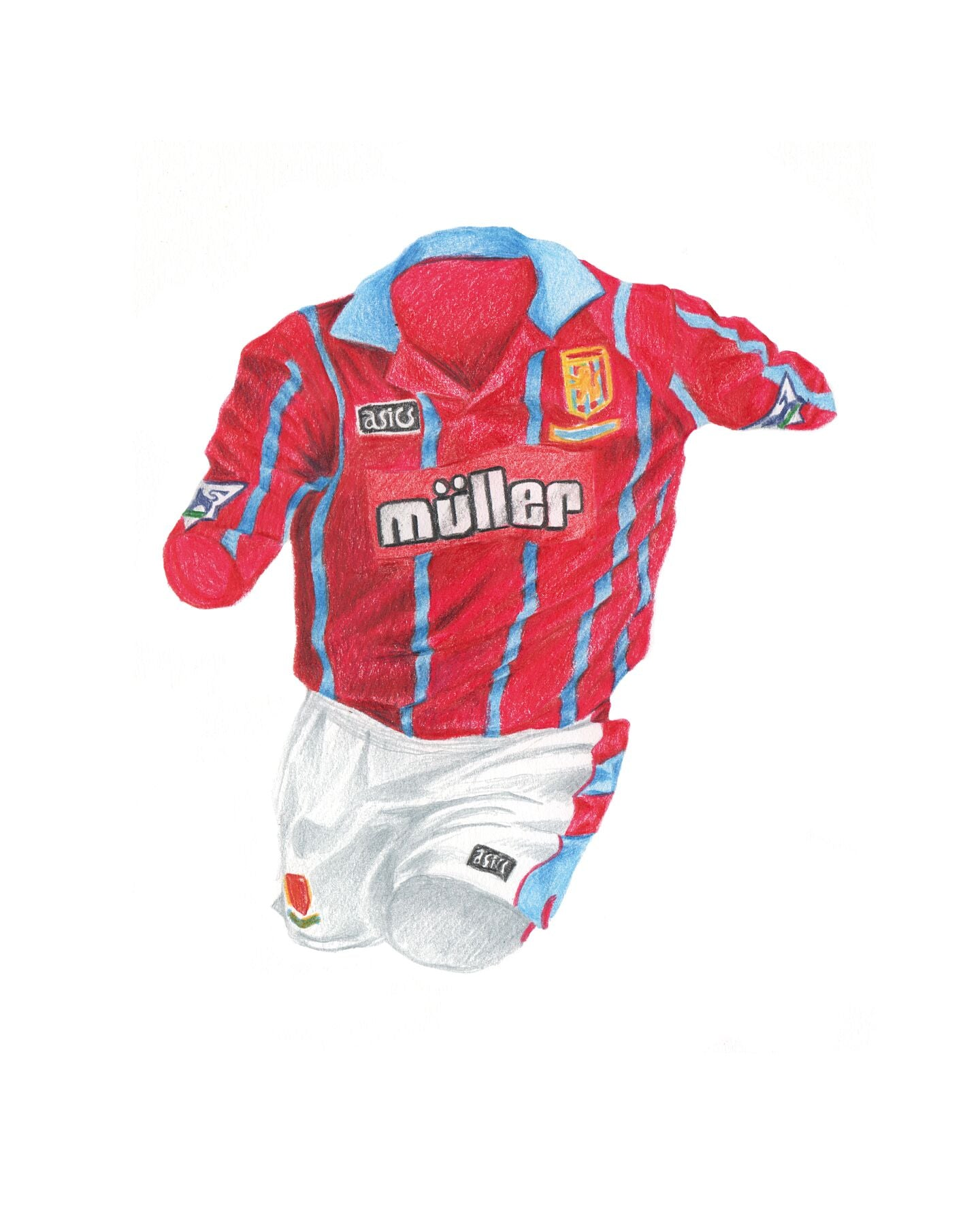 Aston Villa Home '93-'94