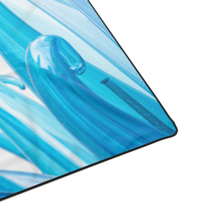 Blue Wave Polyester Blanket