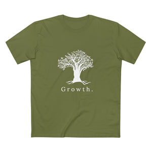 """Growth."" mens AS Color tee"
