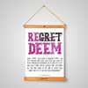 Redeem Your Regrets