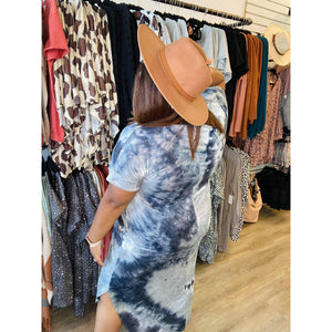 Grey Skies Maxi Dress 5853P