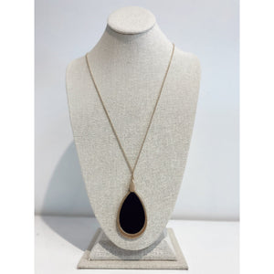 Tear Drop Long Necklace 2083