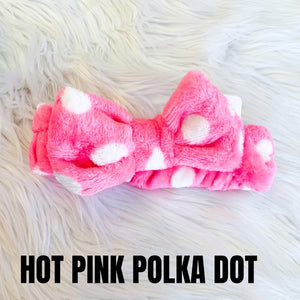 Spa Headband Dots